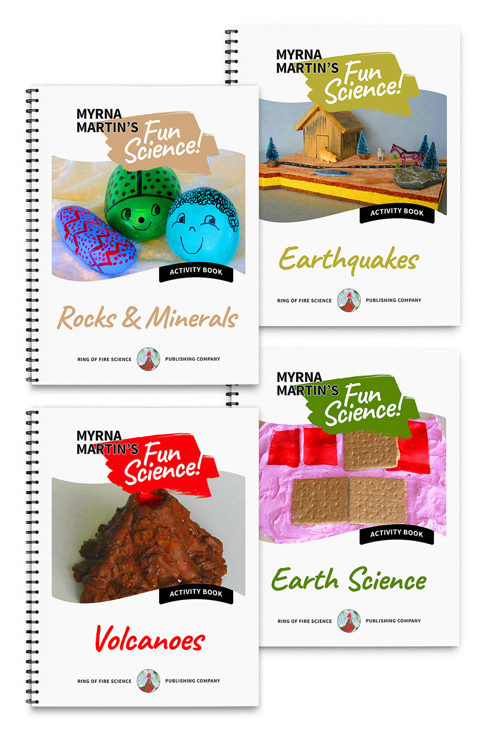 Myrna Martin Fun Activity Books Package 1