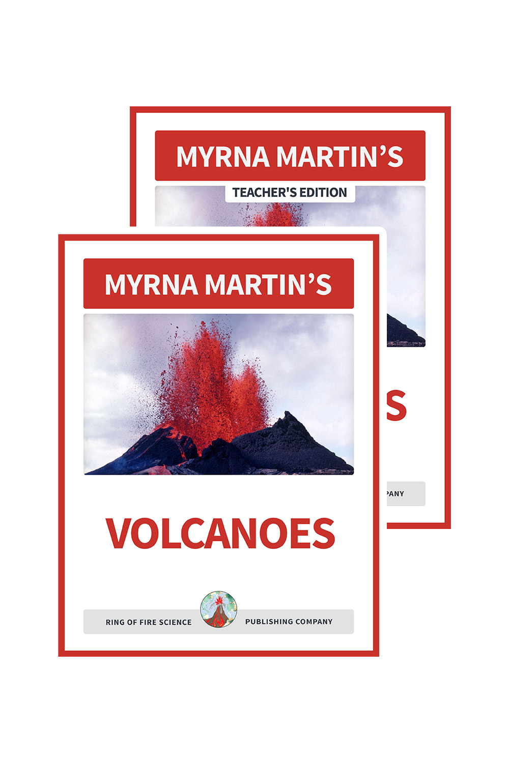 Volcanoes by Myrna Martin plus Teachers edition eBooks