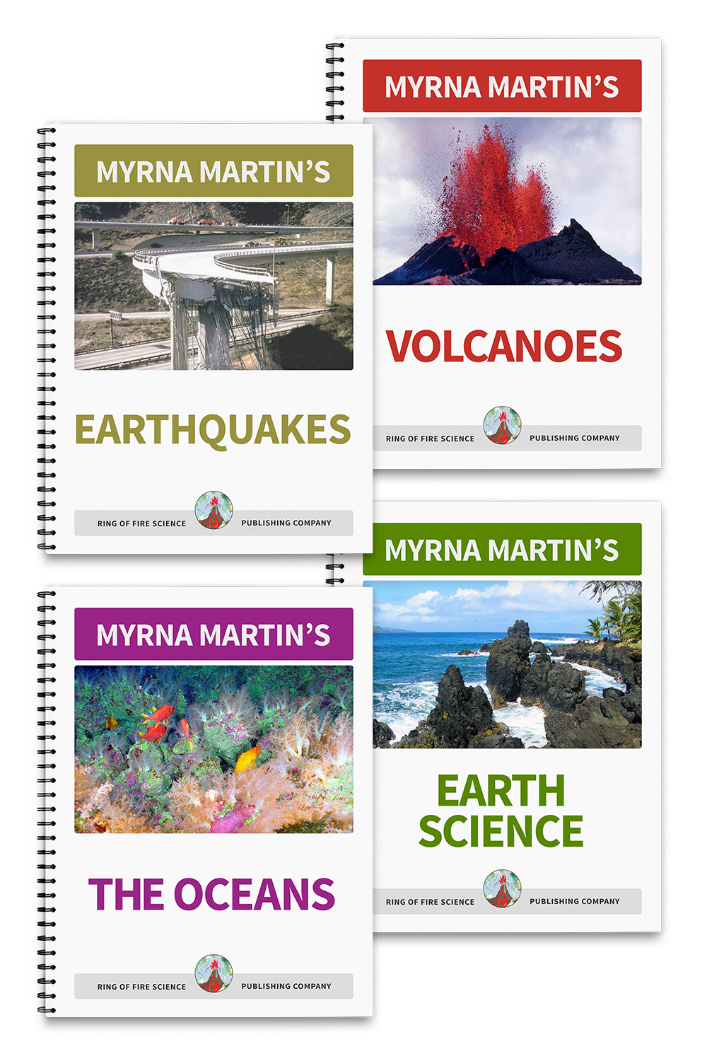 Myrna Martin's Earth Science Books