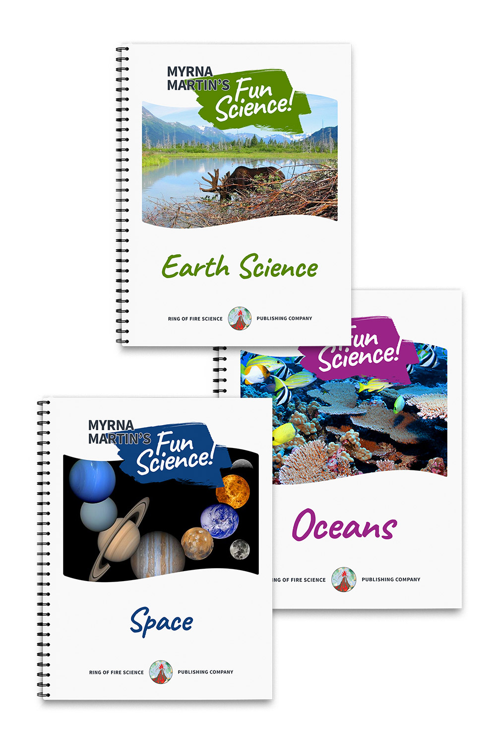 Myrna Martin's Fun Science Books Package 2