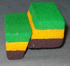 Earthquake activity using Styrofoam fault blocks.