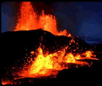 Kafla Volcano, Iceland USGS